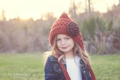 Hey, I found this really awesome Etsy listing at http://www.etsy.com/listing/125240321/childrens-hat-crochet-pixie-hat-gnome Crochet World, Hat Crochet, Crochet Toys, Crochet Stitches, Crochet Baby, Childrens Crochet Hats, Crochet For Kids, Thanksgiving Hat, Gnome Hat