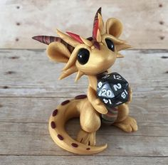 Dragons and Beasties Polymer Clay Dragon, Polymer Clay Figures, Cute Polymer Clay, Cute Clay, Polymer Clay Creations, Polymer Clay Crafts, Diy Clay, Baby Dragon Tattoos, How To Make Clay