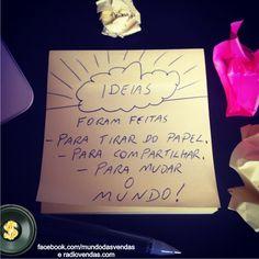 Ideias!!!