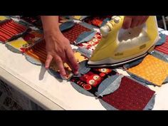 A Passionate Quilter: Denim Circle Pillow- Tutorial, Part 2