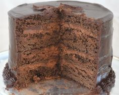 Beki Cook's Cake Blog: Rich Chocolate Cake {Recipe} ... This chocolate cake recipe takes a few extra steps and a little more time than using a box mix. But the results are definitely worth it. It is a decadent, rich cake that will have everyone begging you for the recipe...