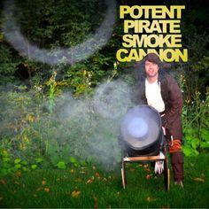 Potent Pirate Smoke Ring Cannon