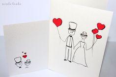 wedding card X