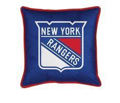 Use this Exclusive coupon code: PINFIVE to receive an additional 5% off the New York Rangers Toss Pillow at SportsFansPlus.com