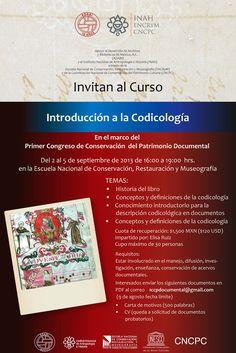 ADABI invita al curso Introducción a la Codicología