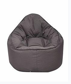 Modern Bean Bag The Pod Bean Bag Chair Upholstery: Brown Contemporary Living Room Furniture, Family Room Furniture, Kids Furniture, Modern Bean Bag Chairs, Modern Bean Bags, Leather Bean Bag Chair, Bean Bag Sofa, Bean Bag Furniture, Couches