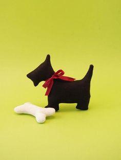 """Free Tutorial! DIY. Handmade dog """"Henry""""- Henry, der gewitzte kleine Terrier!"""