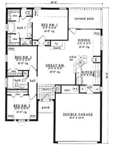 With Dormers House Floor Plans House With Gable Dormers ~ Home ...
