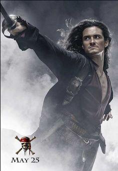 Orlando Bloom as Will Turner #orlando