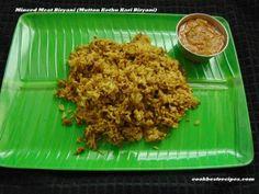 Minced Meat Biryani(Mutton Kothu Kari Biryani),is a easy to eat full flavour of meat biryani without bone recipe. Mince Meat, Biryani, Grains, Good Food, Cooking, Easy, Recipes, Baking Center, Koken