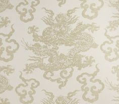 'Dragon King' fabric by No.9 Thompson. 2177/01 - Rice Paper.  http://www.no9thompson.com/products/dragon-king/4573