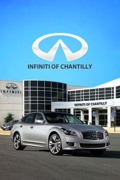 Mobile app development for Infiniti car dealer promotion and advertising