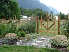 decorative deer fence ideas