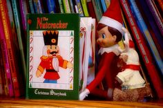Jingle reads The Nutcracker with a friend