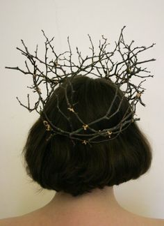 crown made of twigs - Google Search