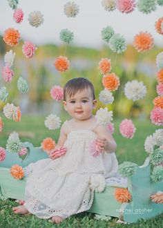 Wooden Flower Photo Backdrop, Flower Garland, Infant Photo Shoot, Photography Backdrop