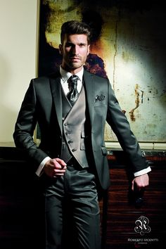 suits for the groom – My Wedding Dream Tuxedo Wedding, Wedding Men, Wedding Suits, Wedding Attire, Groom Tuxedo, Groom And Groomsmen, Groom Suits, Sharp Dressed Man, Well Dressed Men