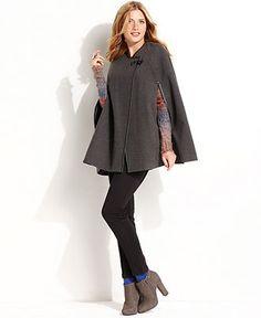 Kensie Coat, A-Line Cape - Womens Coats - Macy's