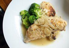 One-Pot Recipe: Mustard and White Wine Braised Chicken