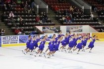 Carnegie native skates to second place with WMU synchro team