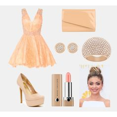 Party time by hopegloverglow on Polyvore featuring moda, Jessica Simpson, Jane Norman, Swarovski and Marc Jacobs