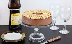 עוגת מוס נוטלה ללא אפייה (צילום: ענבל לביא ,אוכל טוב)