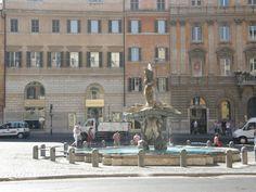 plaza barberini, fontana de triton, Roma