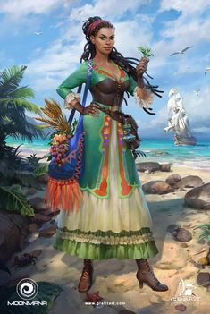 Female Characters for Ultimate Pirates, Grafit Studio Dungeons And Dragons Characters, D D Characters, Fantasy Characters, Fantasy Art Women, Fantasy Girl, Fantasy Inspiration, Character Inspiration, Female Character Design, Character Art