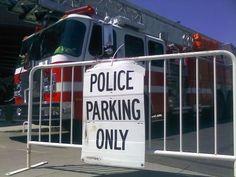 A little firefighter humor! Firefighter Humor, Volunteer Firefighter, Fire Dept, Fire Department, Cops Humor, Fire Trucks, Law Enforcement, Haha, Police