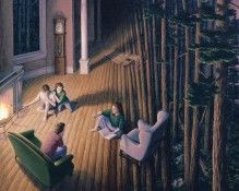 Rob Gonsalves Prints - Woods Within
