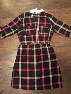 Love this Treasa Dress from Stitch Fix. Feeds my plaid obsession.