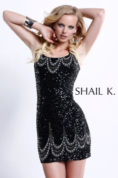 Black and Silver Cocktail Dresses | Home / Short & Cocktail dresses / KK3106-BLACK/SILVER