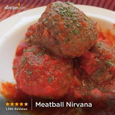 "Meatball Nirvana | ""This is a meatball recipe to end all meatball recipes, a keeper."" — Jennifer C."