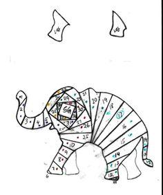 Iris folding elephant photo Elefant.jpg