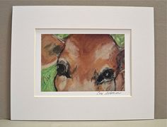 Milk Anyone Cow Art Signed Matted Print By Cori Solomon