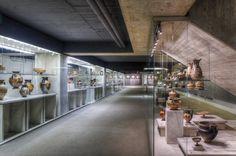 Kunstsammlung Uni Bochum / Architekturfoto von Mark Wohlrab