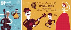 Gadjo Dilo. Gypsy jazz band