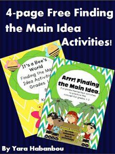 Sea of Knowledge: Fun Ways to Teach the Main Idea!