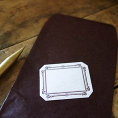 Classiky Glassine Envelope & Label