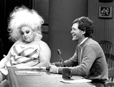 Divine on Late Night with David Letterman (March 10, 1983, NBC)