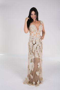 Zilene Rabello - Dourado - Vestidos