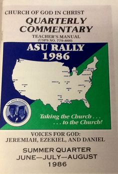 12 best cogic publishing housecogic bookstore images on pinterest tbt this is our adult sunday school book from the summer quarter of 1986 fandeluxe Images