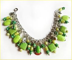 Hey, I found this really awesome Etsy listing at https://www.etsy.com/listing/48005834/lime-green-sterling-silver-charm