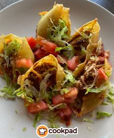 #Συνταγή για #κοχύλια #γεμιστά με #μπέργεκρ! #συνταγές #recipes #pasta #cheeseburger Tacos, Mexican, Ethnic Recipes, Food, Essen, Yemek, Mexicans, Meals