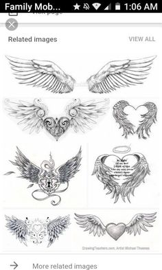 Selection of the right Angel Wings tattoo design Tattoos for women - . - Selection of the right Angel Wings tattoo design Tattoos for women – (no title). Kneeling Angel T - Mama Tattoos, Cute Tattoos, Body Art Tattoos, Wing Tattoos, Wing Tattoo Designs, Angel Tattoo Designs, Design Tattoos, Tatouage Xo, Heart With Wings Tattoo