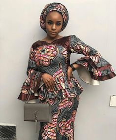 latest skirt and blouse designs: 25 Stylish Ankara Skirt and Blouse Design for African Ladies in 2019 African Wear Dresses, African Fashion Ankara, Latest African Fashion Dresses, African Print Fashion, Africa Fashion, African Attire, Ankara Skirt And Blouse, Ankara Dress, Africa Dress