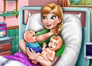 Frozen Anna Mommy Twins Birth