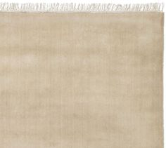 Fringed Hand-Loomed Rug - Heathered Taupe | Pottery Barn Final choice for hallway runner purchased 6/4/15