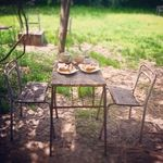 SEWING TABLE COFFEE  - 内観写真:屋外席ペットはテラス席のみ可