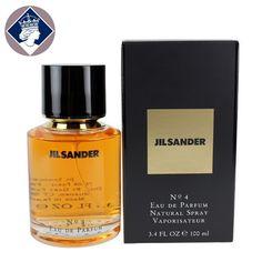 Jil Sander No.4 Perfume 100ml Eau De Parfum Spray EDP Fragrance for Women NEW